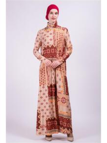 Платье водолазка макси Bella Kareema 4474529