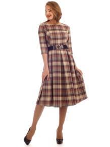 Платье в клетку Lamiavita 4512201