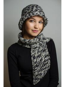 Шляпа с шарфом ИТАЛЬЯНСКАЯ МОЗАИКА Тамара Турьянова 4597254