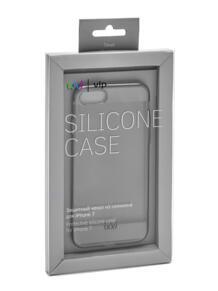 Защитный чехол Silicone Case для Iphone 7 серый vlp 4900997