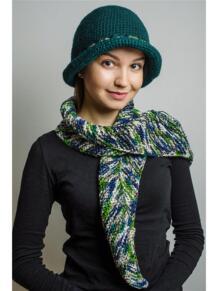 Шляпа с шарфом СТОЛИЧНАЯ Тамара Турьянова 5001039