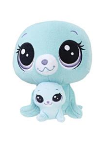 Игрушка мягконабивная ПЕТ и его малыш Littlest Pet Shop 5071567