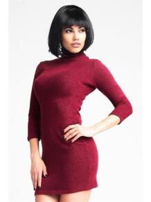 Мини платье-водолазка ZAIN. 5233422