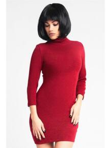 Мини платье-водолазка ZAIN. 5233438