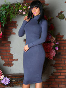 Платье водолазка из шерсти FIRMA 5416563