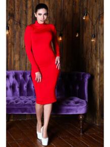 Платье водолазка из вискозы FIRMA 5416585