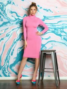 Платье водолазка из вискозы FIRMA 5416586