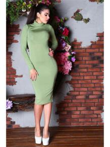 Платье водолазка из вискозы FIRMA 5416588