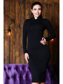 Платье водолазка из вискозы FIRMA 5416589