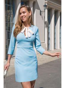 Платье с бантом Self Made 5476345