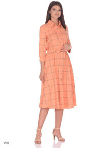 Платье короткое Клетка ALICE STREET 5610308