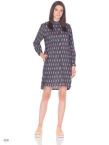 Платье-рубашка с лисичками Monoroom 5621030