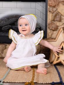 Пелагея, Крестильный набор для девочки Makkaroni Kids 5655103