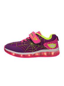 Светящиеся кроссовки Kids Fashion Spider с зарядкой от USB Luminous Shoes 5950724