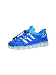 Светящиеся кроссовки Sport с зарядкой от USB Luminous Shoes 5996437