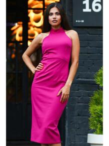 Платье водолазка без рукавов LT DESIGN 6079591