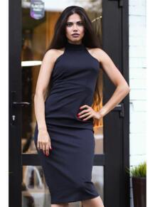 Платье водолазка без рукавов LT DESIGN 6079592