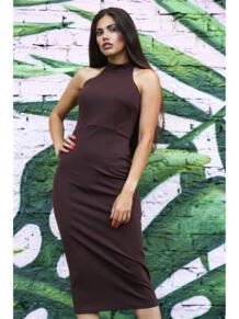 Платье водолазка без рукавов LT DESIGN 6079593