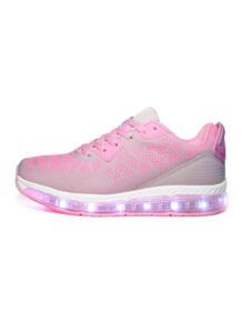 Светящиеся кроссовки Easy с зарядкой от USB Luminous Shoes 6127708
