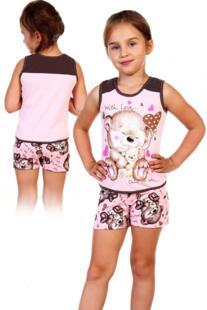 Пижама детская Мишка (розовая) рр Инсантрик 54352