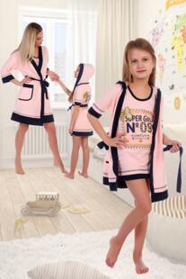 Комплект детский Флора (розовый) рр Инсантрик 54361