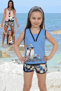 Пижама детская Полетта (пингвины) рр Инсантрик 54365