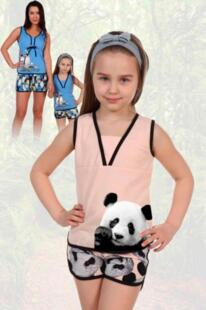 Пижама детская Полетта (панды) рр Инсантрик 54367