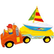 """Развивающая игрушка """"Трейлер с яхтой"""" KIDDIELAND 11506998"""