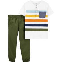 Комплект : футболка и брюки Carter`s 12588791