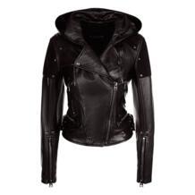 Кожаная куртка с капюшоном Tom Ford 5642587