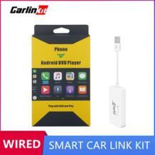 мини проводной Apple Carplay USB ключ для Android навигационный плеер с Android авто зеркало смарт автомобиль Ссылка комплект-in ТВ-приемник для автомобилей from Автомобили и мотоциклы on AliExpress Carlinkit 4000215226158