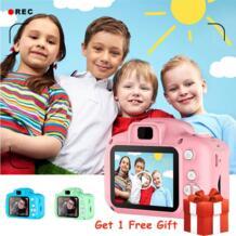 Детская мини камера, обучающие игрушки для детей, подарок на день рождения, цифровая камера 1080P, проекционная видеокамера|Игрушечные камеры| - AliExpress AUTOPS 4000096502712