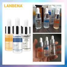 Serum витамин C сыворотка + шесть сыворотка с пептидами 24K золото + Сыворотка с гиалуроновой кислотой антивозрастной увлажняющий уход за кожей отбеливание ярче-in Сыворотка from Красота и здоровье on Aliexpress.com | Alibaba Group LANBENA 32846615156