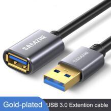 Удлинительный кабель USB 3,0/2,0, плоский Удлинительный Кабель AM/AF 0,5 м/1 м/1,5 м/2 м/3 м для ПК, ТВ, PS4, компьютера, ноутбука, удлинитель|extender usb|usb extension cordusb3.0 extension - AliExpress SAMZHE 32792258189