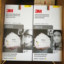 3 м 9001 V 9002 V анти пыли PM 2,5 маска против гриппа дыхательный клапан нетканый матерчатая маска для взрослых KN90 респиратор 3М 32851558396
