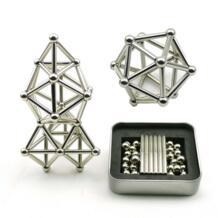 Горячие 36 шт. магнитные стержни 27 шт. стальные шарики игрушки инновационные buckybills металлические стержни магнитные Конструкторы Игрушки для строительных моделей MINOCOOL 32948220006