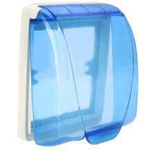 Универсальный водонепроницаемый разъем Переключатель протектор 86 Тип для настенной розетки панель Крышка Распределительной Коробки для обеспечения безопасности No name 32959371551
