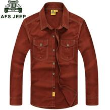 Одежда 2015 весна осень модные мужские хлопковые рубашки рубашка Camisa Hombre плюс размер блузка Vestido Мужская одежда Повседневная M ~ 5XL ZHAN DI JI PU 32441635898