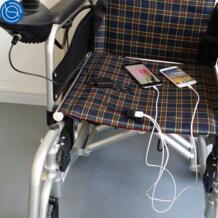 Складная коляска с электроприводом USB телефон зарядное устройство с двумя зарядки портов No name 32958291484