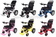 Производство Дешевое складное Электрическое Кресло-коляска цены, емкость 180 кг No name 32982677316