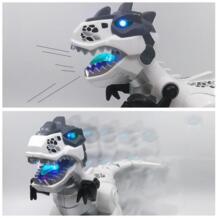 Умный RC электронный игрушечный динозавр негабаритных моделирование животных игрушка тираннозавр рекс прогулки голос дистанционное управление робот игрушка MINOCOOL 32962441537