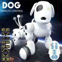 Domibot беспроводной пульт дистанционного управления RC робот умная собака для игрушка-подарок для детей поют танец ходящий говорящий развивающий JJRC 32988560966