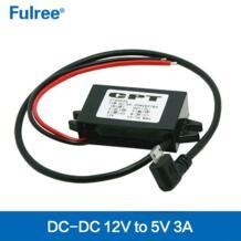 12 В до 5 В Car автомобильный преобразователь питания понижающий gps DVR бак зарядный модуль 90 градусов Угловой MICRO USB L образный разъем fulree 32247053437