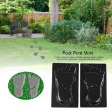 Форма для печати ног, бетонный инкрустированный камень, садовая форма, сделать ваши собственные огромные следы, дорожка, бетонные формы, Hormigon Impreso TOPINCN 32989701641