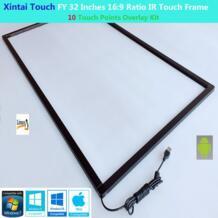 FY 32 дюйма 10 сенсорных точек 16:9 соотношение ИК сенсорная рамка панель Plug & Play (без стекла) Xintai Touch 32969867375