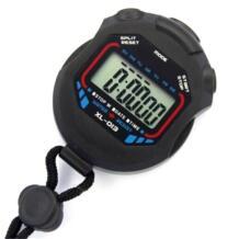 Спортивный секундомер, портативный, водостойкий, ЖК-дисплей, цифровой секундомер, счетчик хронографа, спортивные аксессуары No name 32952154740