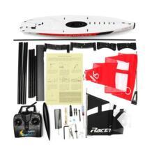 Volantexrc 791-1 65 см 2,4 г 4CH RC Компас для лодки предварительно собранный парусник без батареи игрушка легкая обработка и DIY RC лодки игрушки AeoFun 32971518711