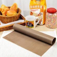 30*40 см высокотемпературный устойчивая ткань коврик для выпечки лист для барбекю анти-масляная ткань для выпечки линолеум повторное использование масляной бумаги ZH799 EZLIFE 32620614175