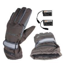 2018 Ручная Задняя нагревательная электрическая перчатка перезаряжаемые теплые перчатки 4 часа лыжные непромокаемые ветрозащитные перчатки с подогревом MUMIAN 32849210758