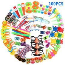 100 шт детские развивающие игрушки День рождения маленькие игрушки Праздничные подарки головоломка призы набор красочные интересные игрушки MINOCOOL 32947637512